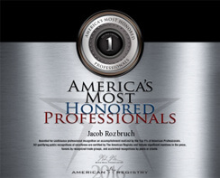 America's Most Honored Professionals 2016