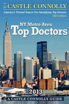 Castle Connolly Top NY Doctors 2013