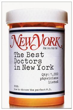 New York Magazine Best Doctors 1998