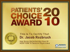 Patients' Choice Award 2010