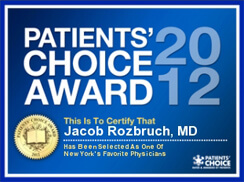 Vitals Patients' Choice Award 2012