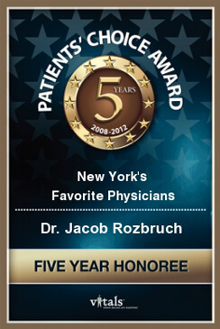 Vitals Patient's Choice Award - 5 Years