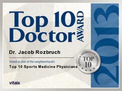 Vitals Top 10 Doctor 2013