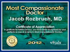Vitals Most Compassionate Doctor 2012