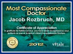 Vitals Most Compassionate Doctor 2012