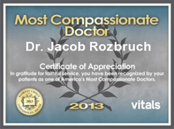 Vitals Most Compassionate Doctor 2013