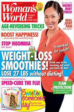 Woman's World Magazine With Dr. Rozbruch