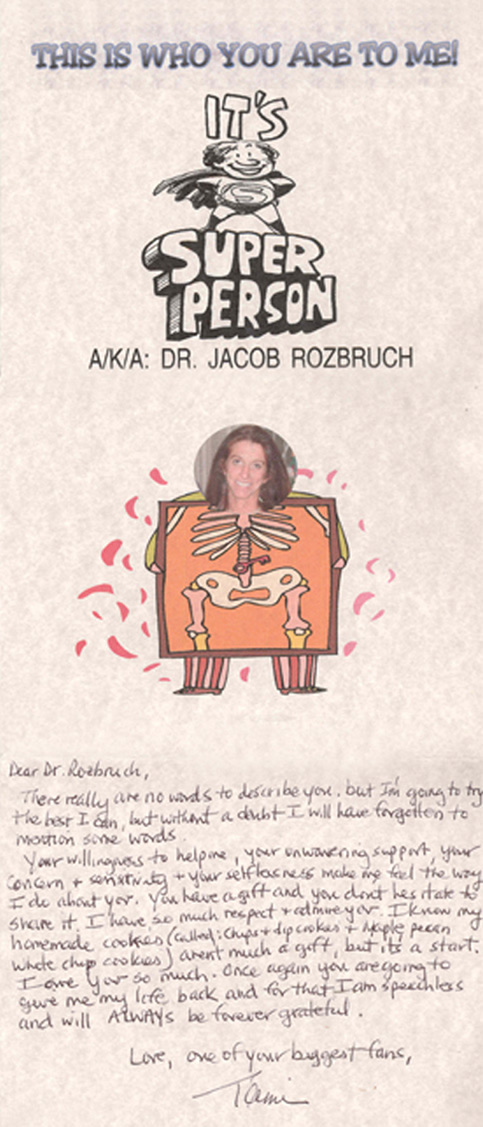 Jacob Rozbruch, MD Testimonial